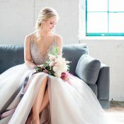 Ethereal Wedding Day Glam Bridal Style from Hayley Paige