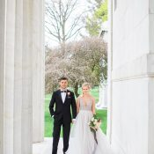 Modern Marble Wedding Day Glam Shoot