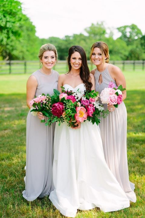 Colorful Chic Barn Wedding In Texas