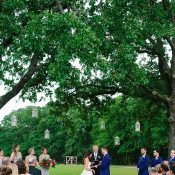 Summer Texas Barn Wedding Ceremony