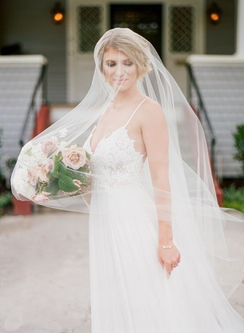 Peaches and Cream Southern Bridal Inspiration » Hey Wedding Lady