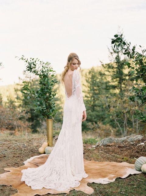 Natural Colorado Mountain Wedding Ceremony