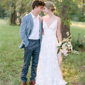Sweet and Intimate Summer Texas Elopement Shoot