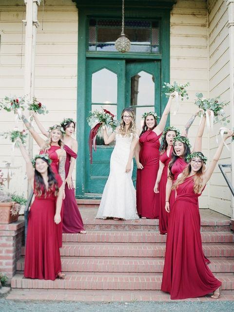 Modern Ranch Chic Northern California Wedding Hey