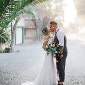 Ranch Chic Real Wedding with Golden California Light
