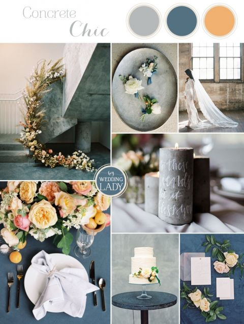 Industrial Design Ideas for a Modern Wedding