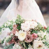 Romantic Spring Pastel Bridal Bouquet