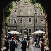 Harry Potter Inspired Wedding Ceremony in a Melbourne Castle