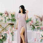 Floral Goddess Bridal Shoot