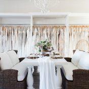 Martha's Vineyard Inspired Neutral Nautical Wedding Shoot