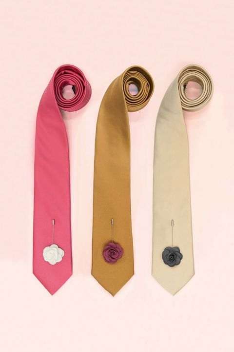 Colorful Tie Options for a Stylish Modern Groom