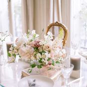 Intimate Elopement Reception in a Paris Penthouse