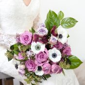 Ultra Violet Bridal Bouquet for a Timeless Wedding Day