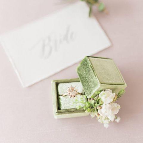 Oval Starburst Vintage Engagement Ring