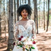 Dreamy Woodland Bridal Photos