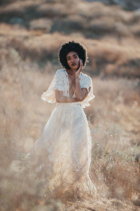 Desert Dreams - Sustainable Bohemian Bridal Photos