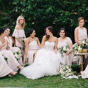Vogue Worthy Bridesmaid Photo