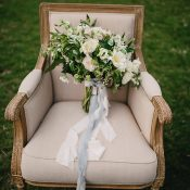 Blush and Ivory Summer Bridal Bouquet