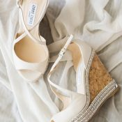 Jimmy Choo Bridal Wedges