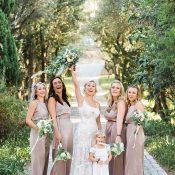 Mocha Silk Bridesmaid Dresses