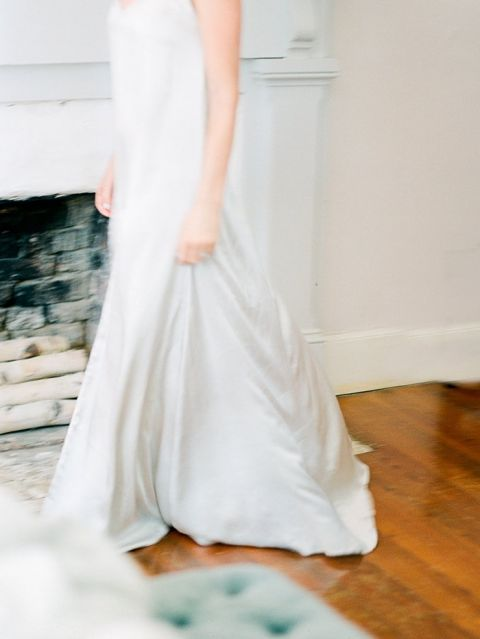 Silk Nightgown for the Wedding Night