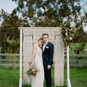 Modern Bohemian Elegance Wedding in Australia
