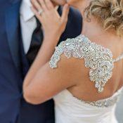 Glamorous Crystal Bridal Bolero