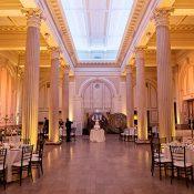 City Chic Reception in a Unique Wedding Venue
