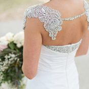 Glam Crystal Bolero for a Chic Wedding Dress