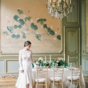 French Couture Wedding Style