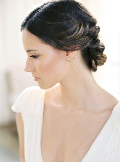 Elegant Bridal Updo Hairstyle