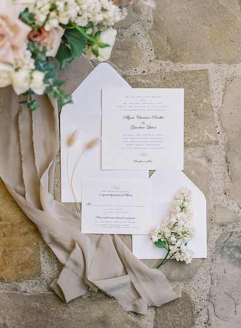 Neutral and Natural Wedding Detail Flatlay