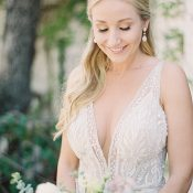Glamorous Beaded Galia Lahav Wedding Dress