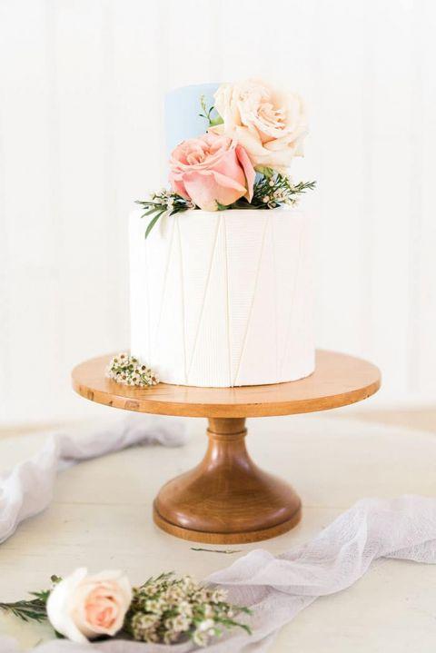 White Barn Wedding Ideas with Sweet Pastels | Hey Wedding Lady