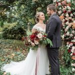 Fall Flowers for a Woodland Wedding Shoot