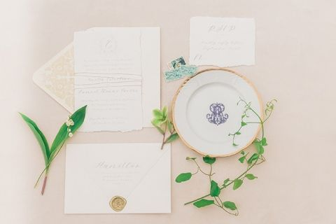 Spring on the Chesapeake Bay Stationery Details