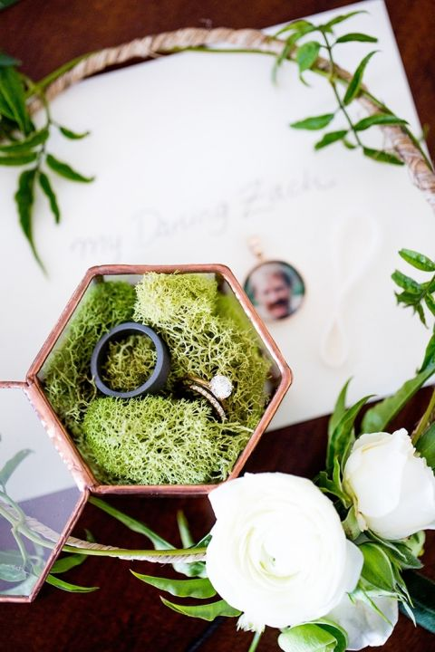 Rose Gold Engagement Ring Details