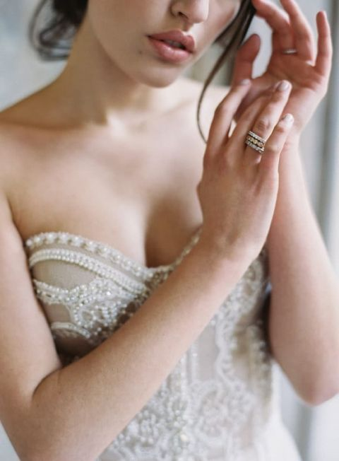 Luxe Beaded Wedding Dress fit for a Princess