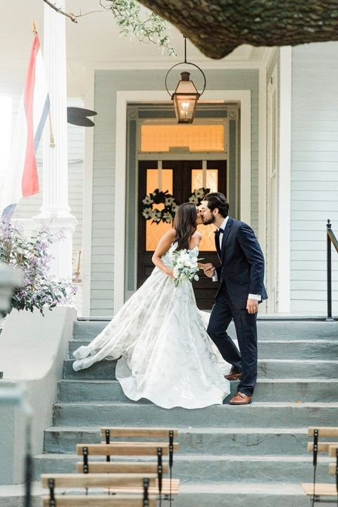 New Orleans Wedding Style in Dreamy Blues and Greens | Hey Wedding Lady
