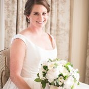 Timeless Bridal Portrait for a n Elegant DC Wedding