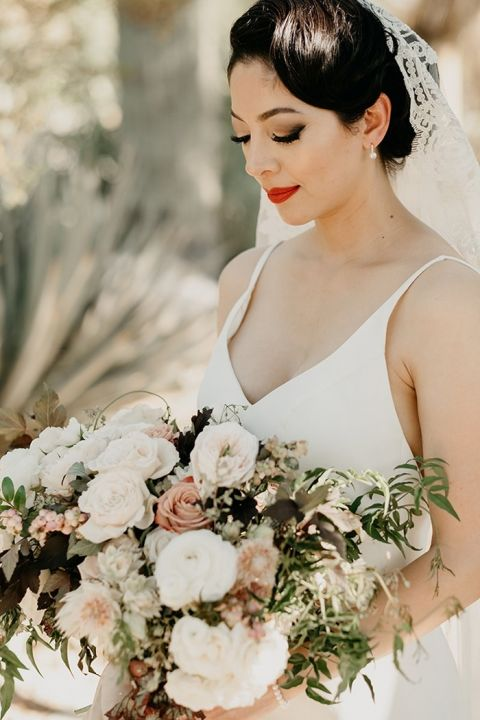 Vintage Wedding Style Meets Modern Minimalism