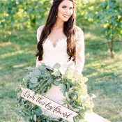 Regal Vintage Vineyard Wedding Day