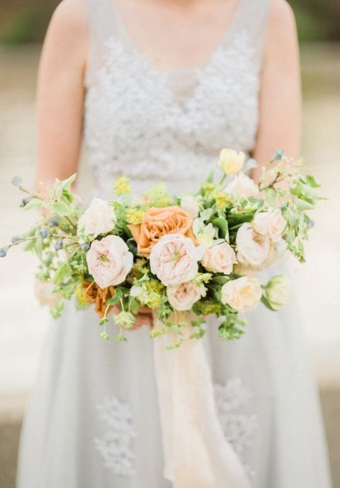 Gray Wedding Colors with Fresh Spring Style | Hey Wedding Lady