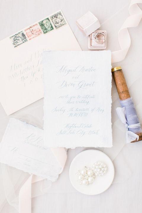 Modern Minimalist Wedding Style in Ultra Violet