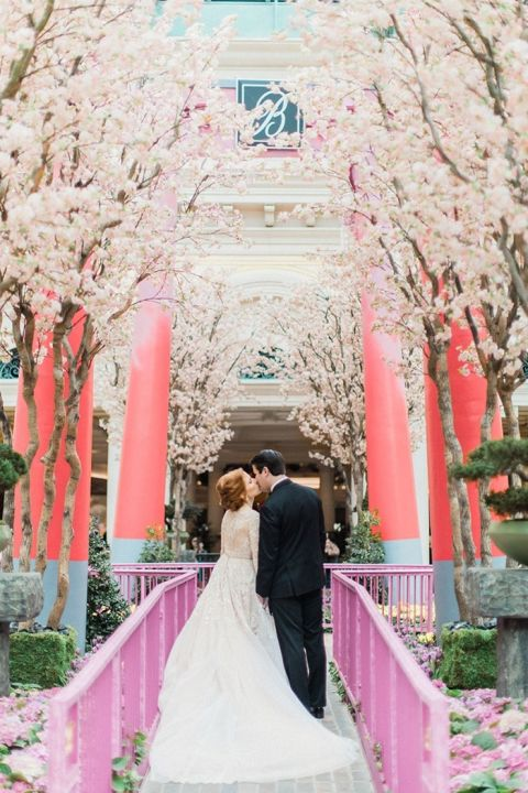The Most Glam Las Vegas Wedding Ever