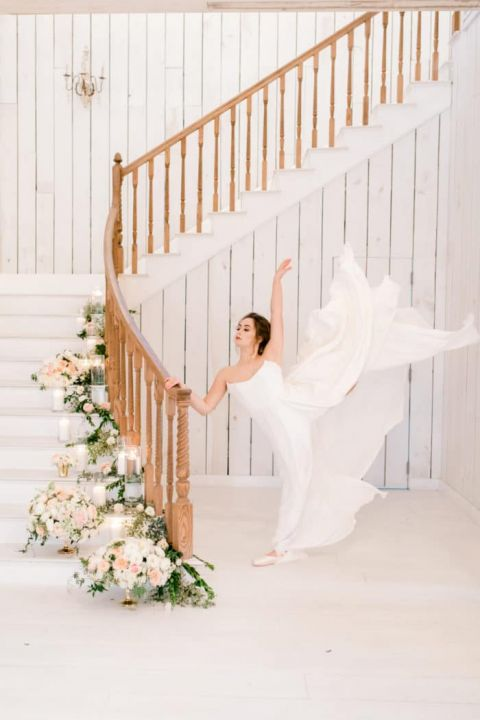Classical Dance Bridal Inspiration at The White Sparrow