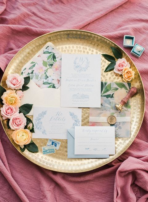Colorful Romance at an Historical Wedding Venue