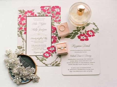 Vintage Garden Party Wedding with a Bright Twist