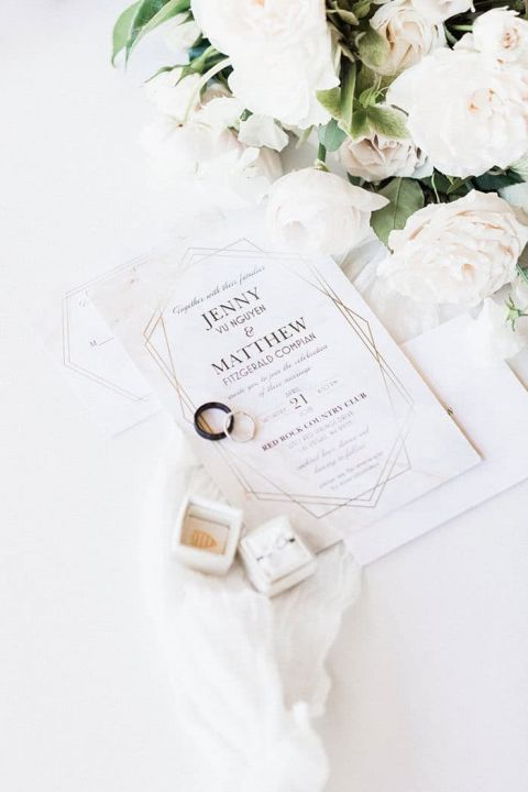 Pastel Romance for a Sparkling Nevada Wedding Day