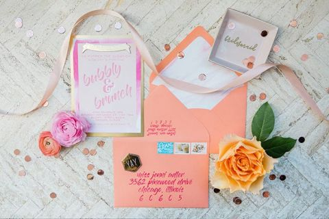 A Bubbly and Brunch Bridesmaid Shower